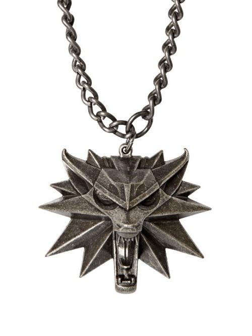 Prívesok medailon Zaklínač 3 - Vlk