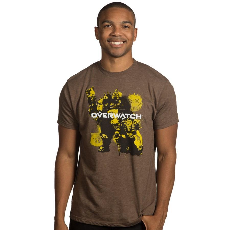 Tričko Overwatch - Junk Brothers (americká veľ. L/európska XL)