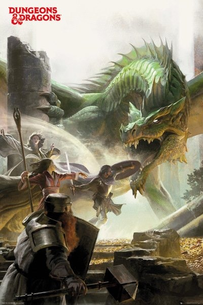 Plagát Dungeons and Dragons - Adventure