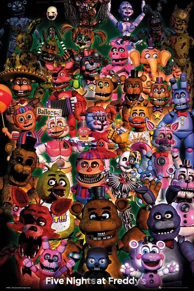 Plagát Five Nights at Freddys - Ultimate Group