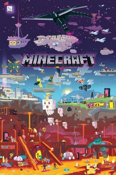 Plagát Minecraft - World Beyond