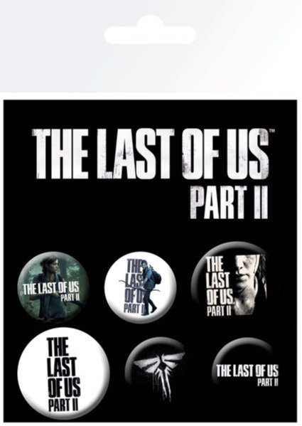 Odznaky The Last of US Part II - Mix