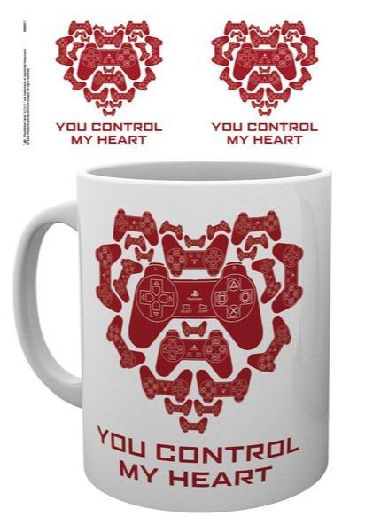 Hrnček PlayStation - You control my heart