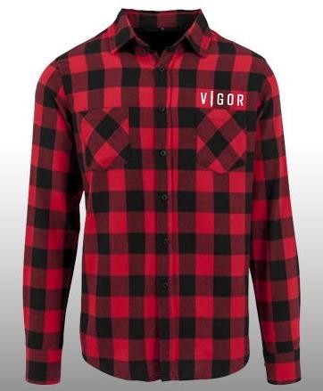 Košeľa Vigor - Károvaná (veľkosť XL)