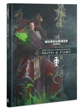 Kniha Warhammer 40,000 - Psychic Awakening: Faith & Fury
