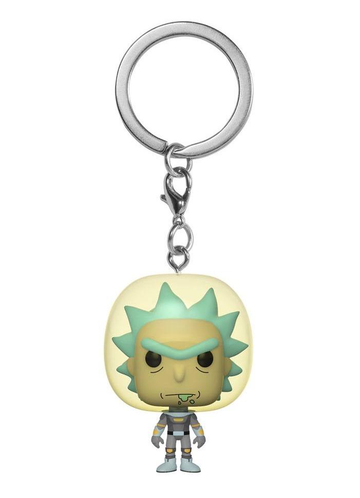 Kľúčenka Rick and Morty - Rick in Space Suit (Funko)