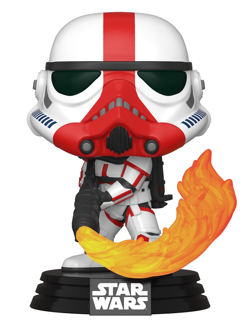 Figúrka Star Wars: The Mandalorian - Incinerator Stormtrooper (Funko POP! Star Wars 350)