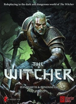 Kniha The Witcher (Stolné RPG)