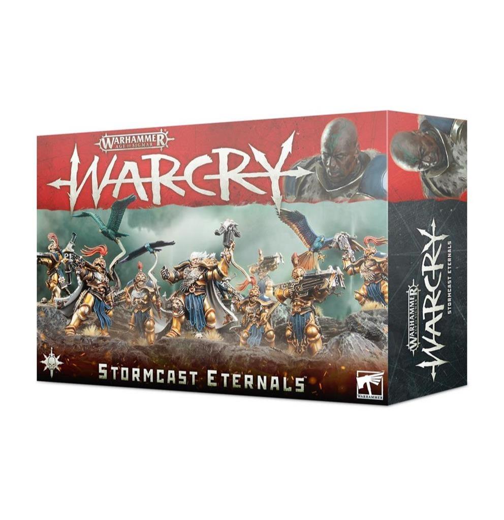 W-AOS: Warcry - Stormcast Eternals (11 figúrok)