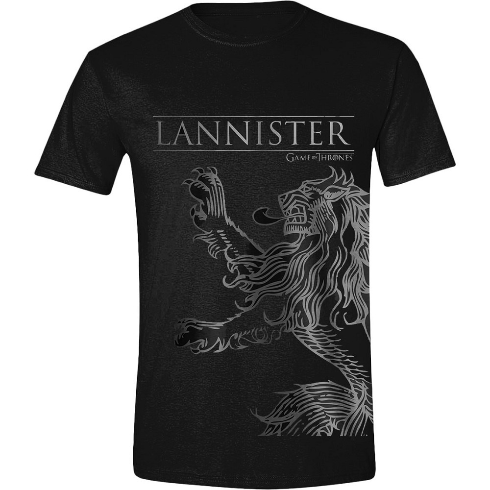 Tričko Game of Thrones - Lannister House Sigil (veľkosť XXL)