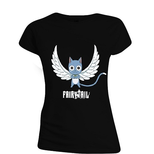 Tričko dámske Fairy Tail - Happy Angel (veľkosť S)
