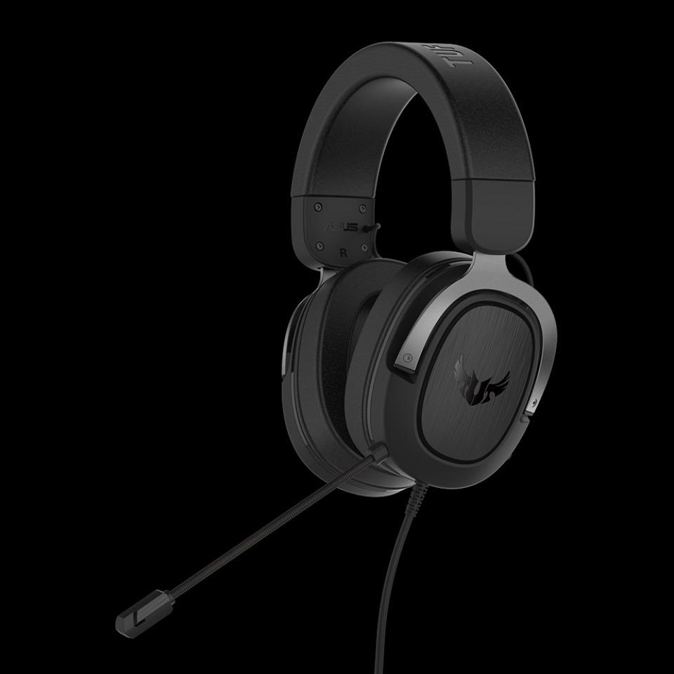 Herný headset ASUS TUF Gaming H3 (Gun Metal) (PC)