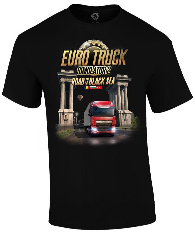 Tričko Euro Truck Simulator - Road to the Black Sea (veľkosť S)