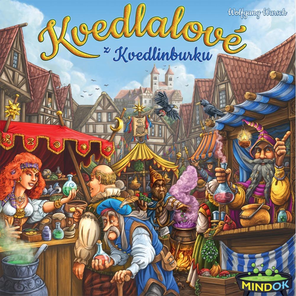 Stolová hra Kvedlalové z Kvedlinburku