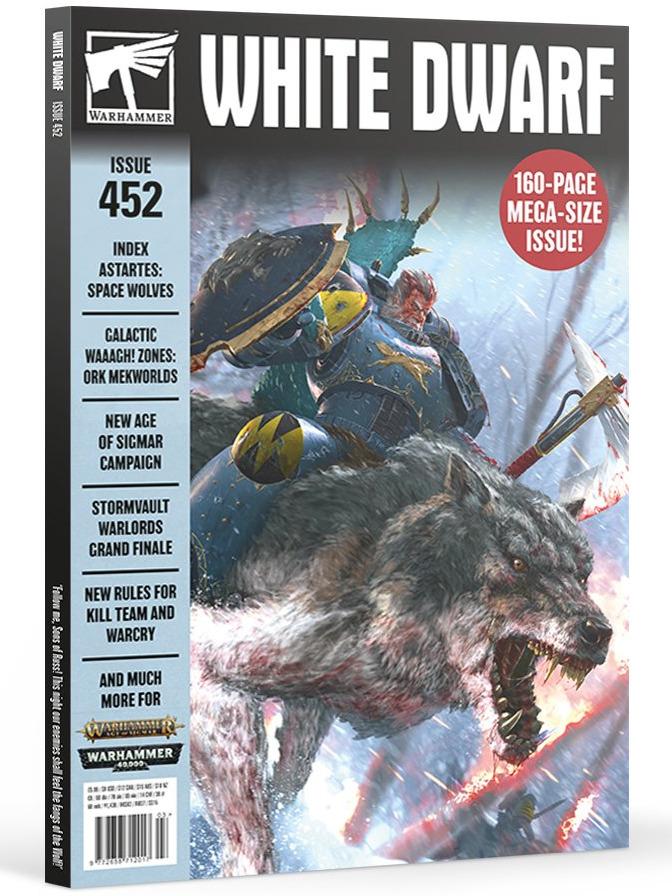Časopis White Dwarf 2020/03 (Issue 452)