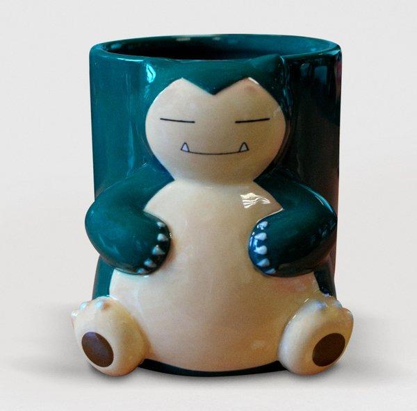 Hrnček Pokémon - Snorlax 3D