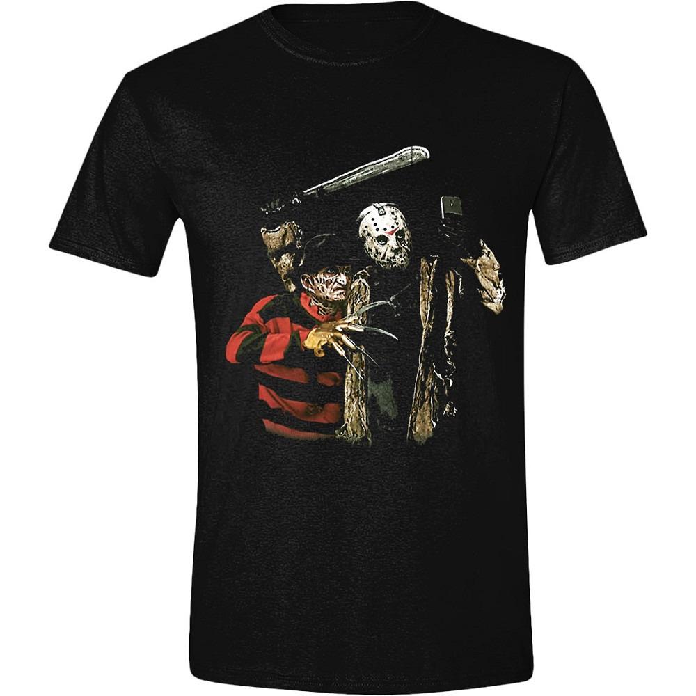 Tričko Freddy vs. Jason - Selfie (veľkosť XL)