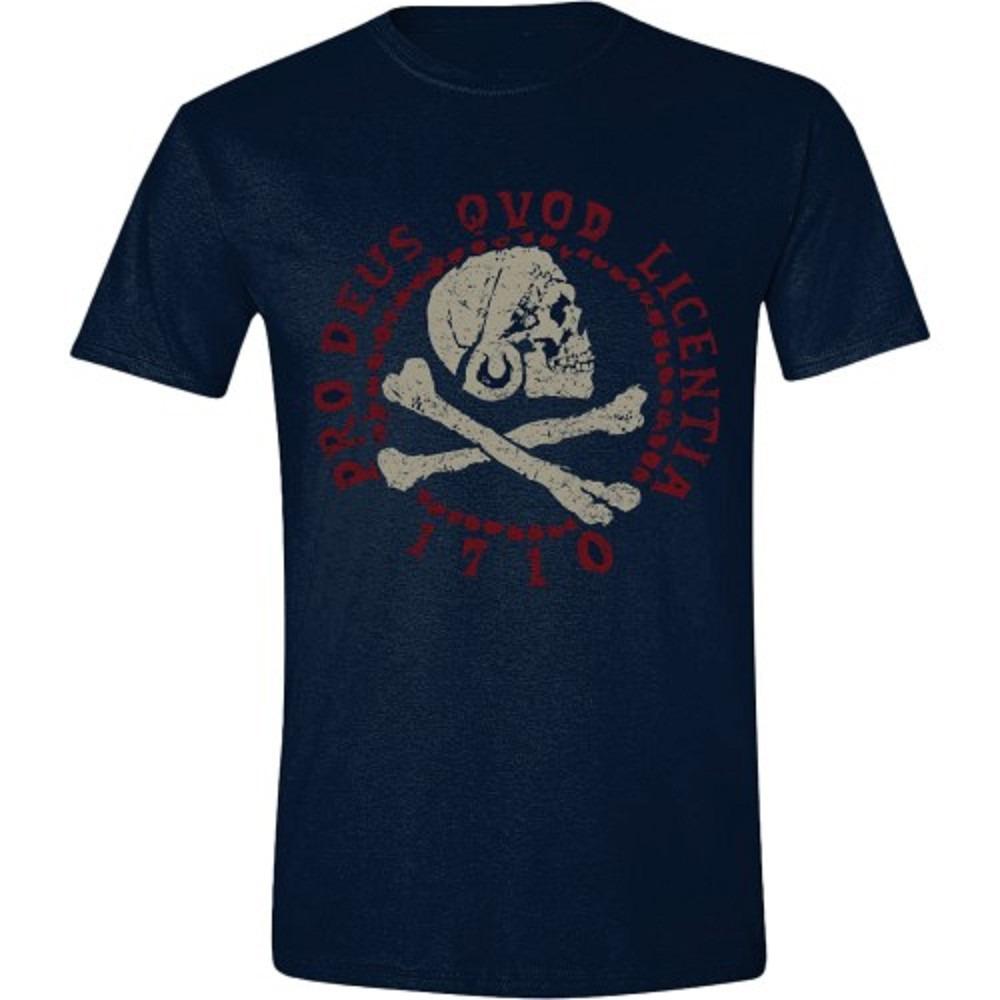Tričko Uncharted 4 - Skull Logo (veľkosť XL)