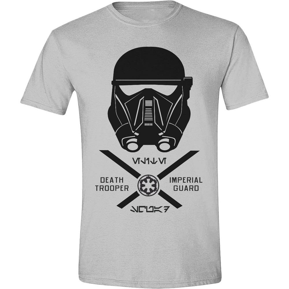 Tričko Star Wars - Imperial Guard, Šedé (veľkosť XL)