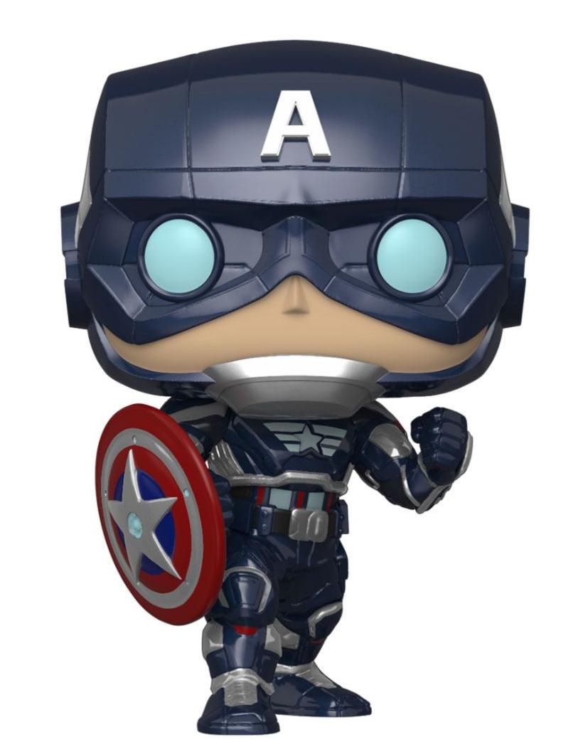Figúrka Marvels Avengers - Captain America (Funko POP! Games 627)
