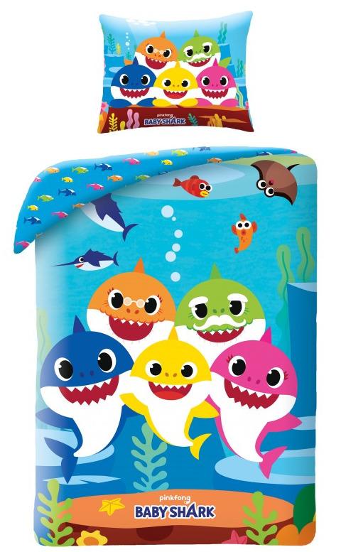 Obliečky Baby Shark - Sharks