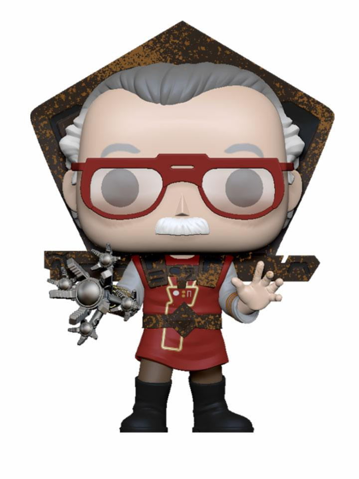 Figúrka Marvel - Stan Lee in Ragnarok Outfit (Funko POP! Icons)