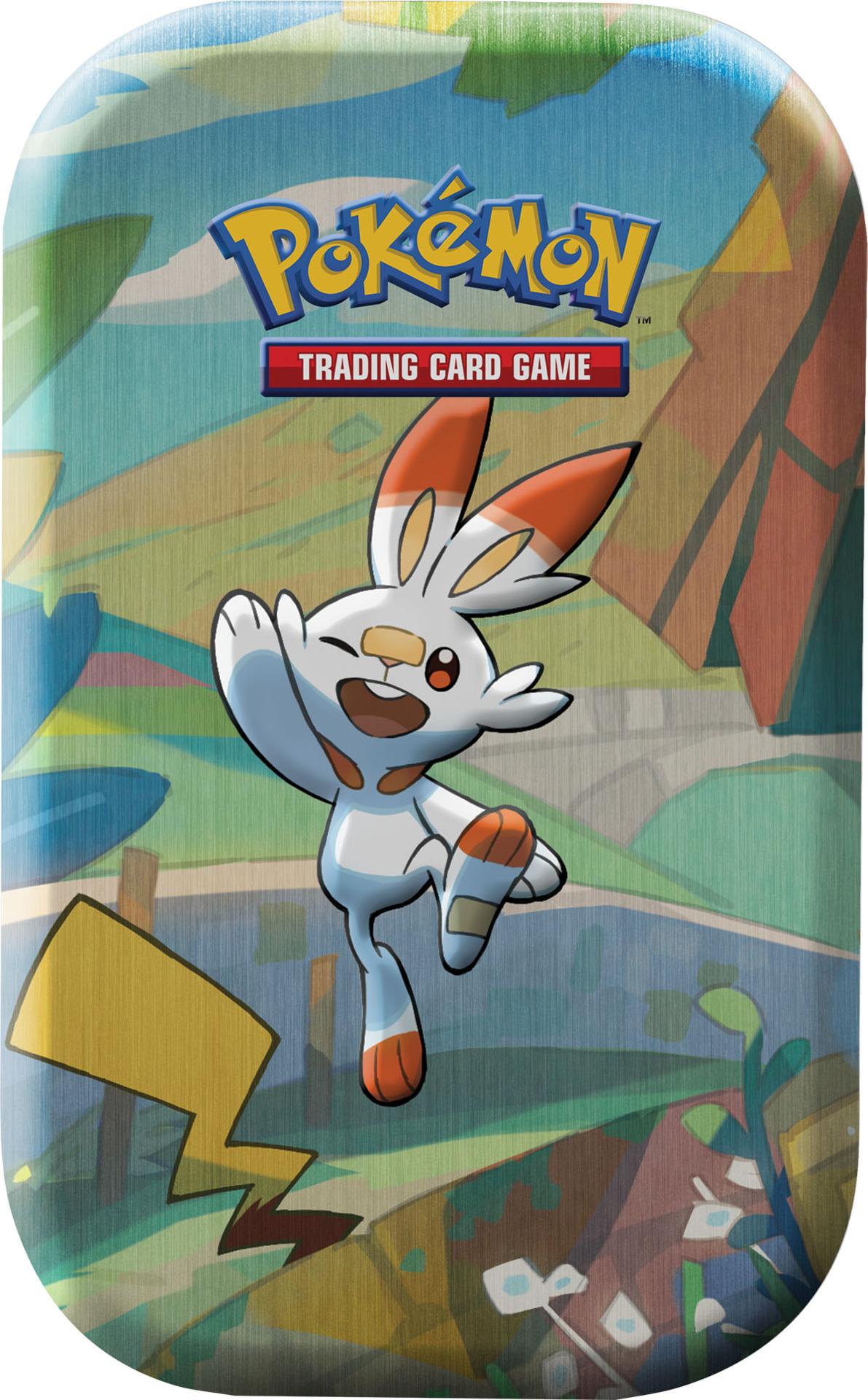 Kartová hra Pokémon TCG - Galar Pal Mini Tin: Scorbunny & Pikachu