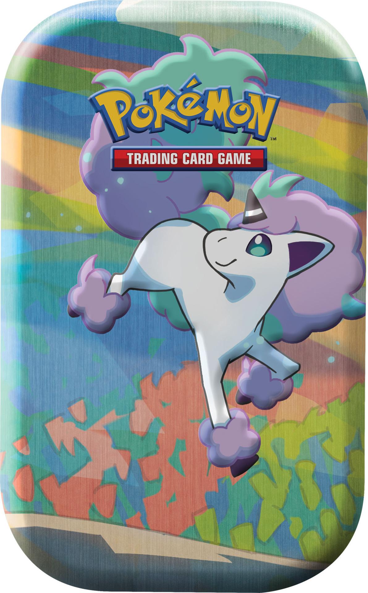 Kartová hra Pokémon TCG - Galar Pal Mini Tin: Galarian Ponyta