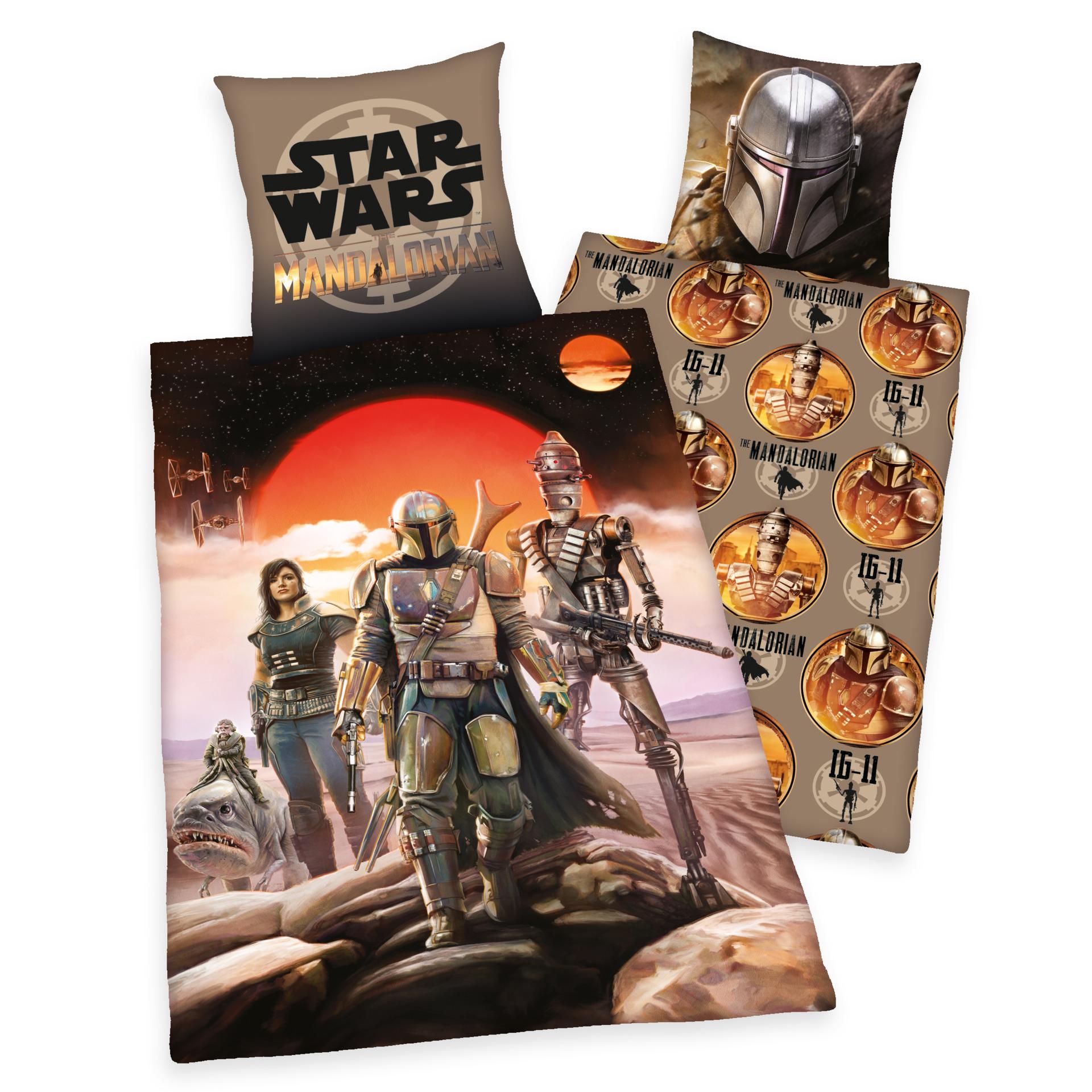 Obliečky Star Wars: The Mandalorian - Mandalorian