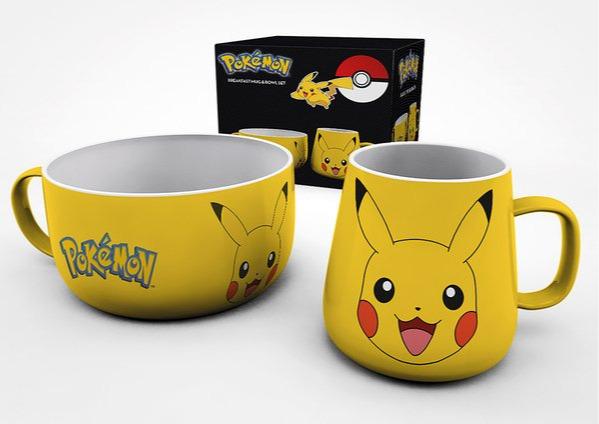 Raňajkový set Pokémon - Pikachu