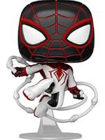 Figúrka Spider-Man - Miles Morales Track Suit (Funko POP! Games)