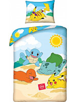 Obliečky Pokémon - Starters Beach
