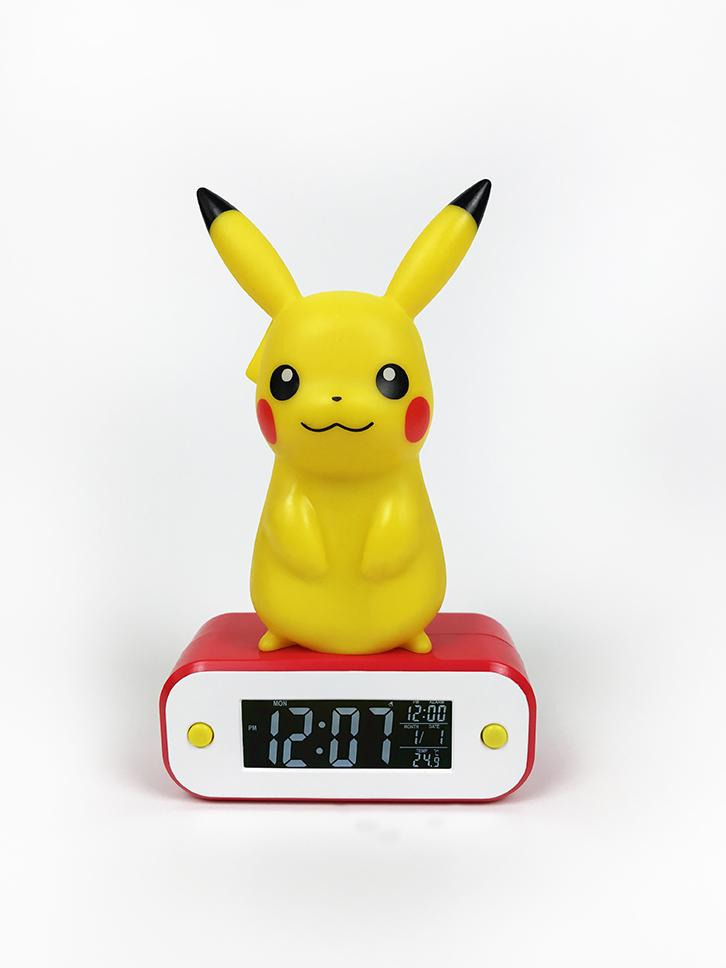 Budík Pokémon - Pikachu (stojaci)