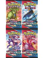 Kartová hra Pokémon TCG: Sword & Shield Battle Styles - booster (10 kariet)