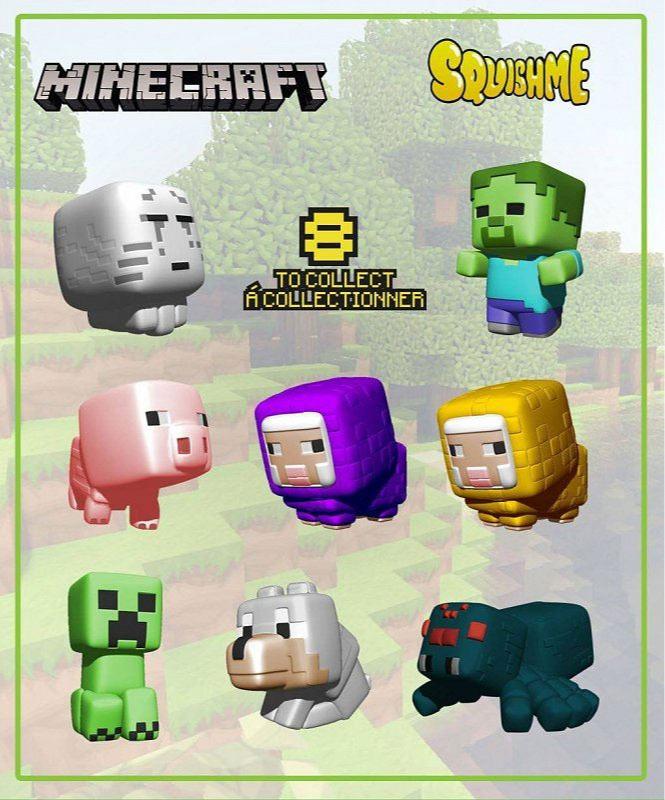 Figúrka Minecraft - Squisme Series 1 (náhodný výber)