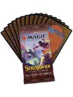 Kartová hra Magic: The Gathering Strixhaven - Japonský Set Booster (12 kariet)
