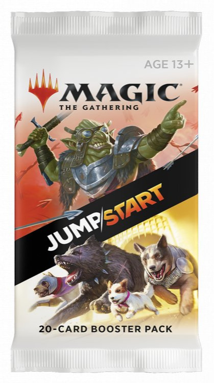 Kartová hra Magic: The Gathering - Jumpstart Booster (20 kariet)