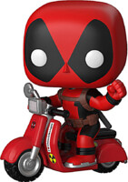 Figúrka Deadpool - Deadpool on Scooter (Funko POP! Rides 48)