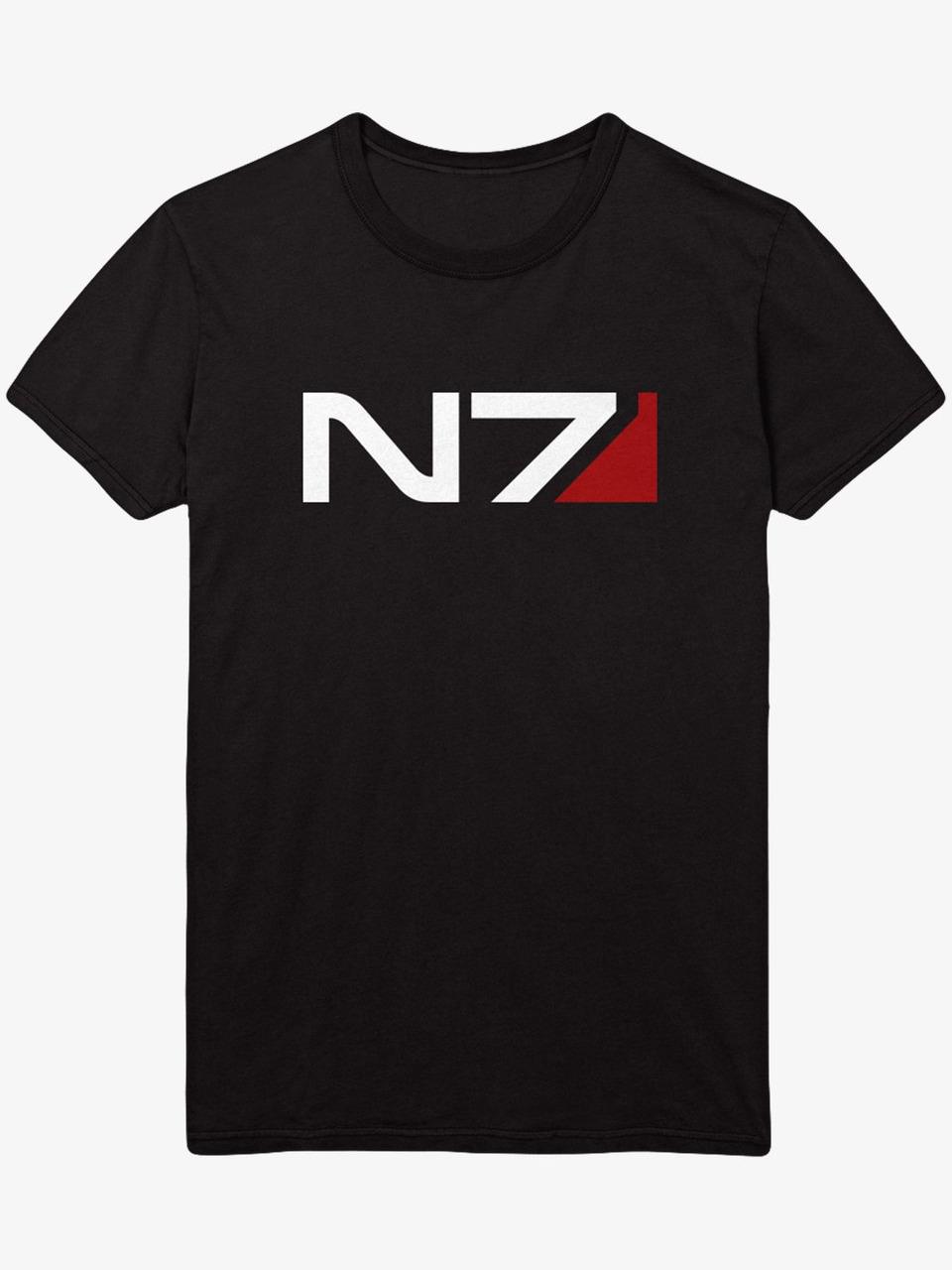 Tričko Mass Effect - N7 Classic Logo (veľkosť XL)