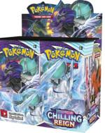 Kartová hra Pokémon TCG: Sword & Shield Chilling Reign - booster box (36 boosterů)