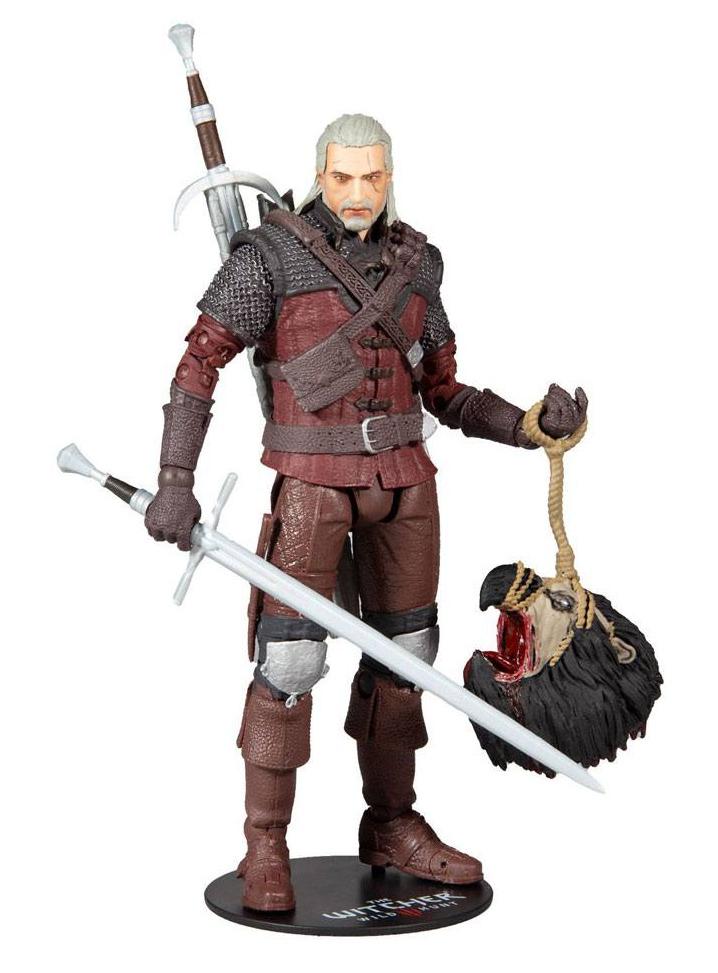 Figúrka Zaklínač - Geralt Wolf Armor Action Figure 18 cm (McFarlane)