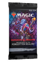 Kartová hra Magic: The Gathering Dungeons and Dragons: Adventures in the Forgotten Realms - Set Booster (12 kariet)
