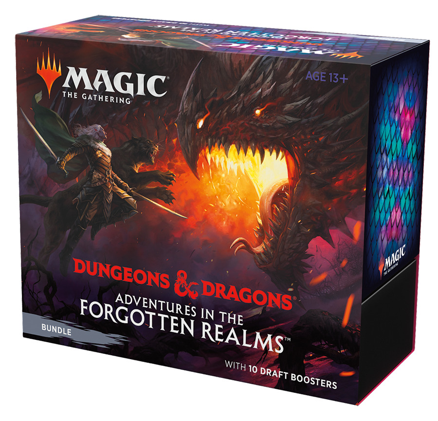 Kartová hra Magic: The Gathering Dungeons and Dragons: Adventures in the Forgotten Realms - Bundle