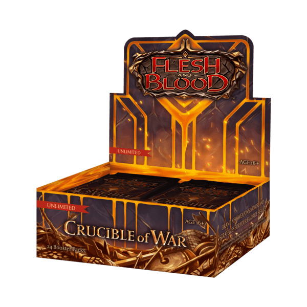 Kartová hra Flesh and Blood TCG: Monarch - Crucible of War Unlimited Booster Box (24 boosterov)
