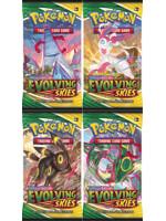 Kartová hra Pokémon TCG: Sword & Shield Evolving Skies - booster (10 kariet)