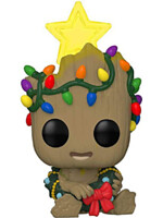 Figúrka Guardians of the Galaxy - Holiday Groot Glow in the Dark (Funko POP! Marvel 530)