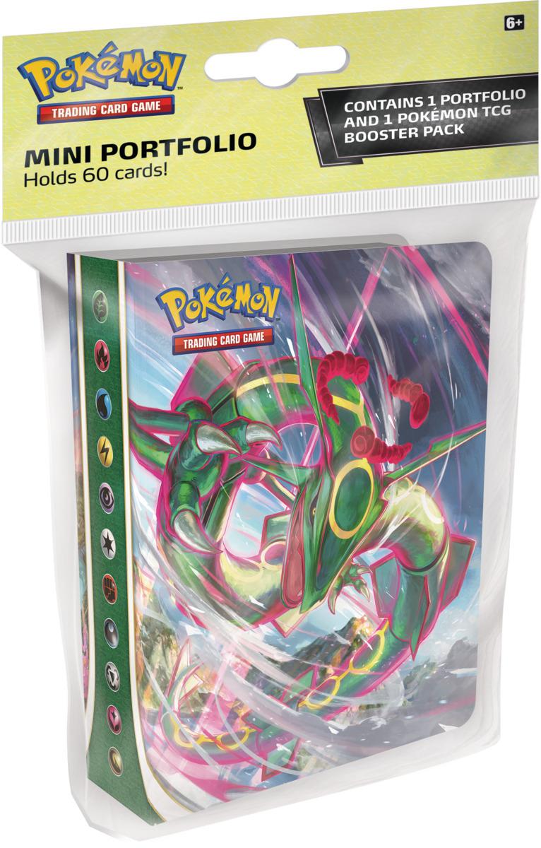 Album na karty Pokémon - Sword and Shield: Evolving Skies Mini + booster (10 kariet)