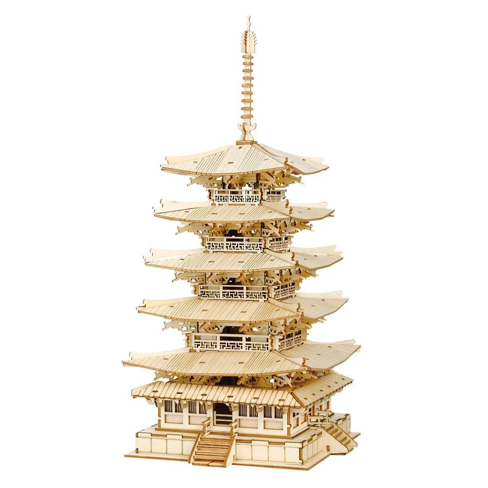 Stavebnica - Pagoda (drevená)