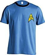 Tričko Star Trek - Science Uniform (veľkosť
