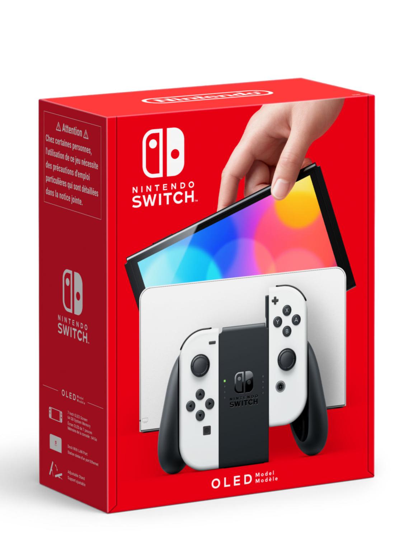 Konzola Nintendo Switch OLED model - White (SWITCH)